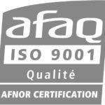 Logo du certificat ISO 9001